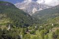 campanile di san giuliano fenils italian alps near cesana torinese european italy italia riviera alpine mountains turin piedmont italien italie
