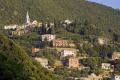 village comeglio taken moneglia italian riviera european italy italia cinque terre liguria mediterranean italien italie