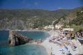 beach monterosso al mare italy cinque terre liguria italian european italia riviera mediterranean lands italien italie