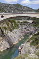 languedoc france gorges rault pont du diable french buildings european herault gorge chasm bridge transparent turquoise st guilhem le sert river roussillon la francia frankreich