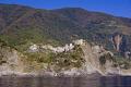 hilltop town corniglia italy cinque terre taken ferry liguria italian european italia riviera mediterranean lands italien italie