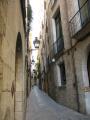 narrow streets old town girona catalunya catalonia spanish espana european spain spanien espa espagne la spagna