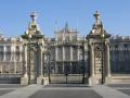 gates palacio real madrid spanish espana european spain spanien espa espagne la spagna
