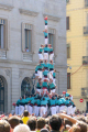 human tower la merce festival catalunya catalonia spanish espana european barcelona spain spanien espa espagne spagna