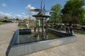 christine lee fountain bancroft gardens stratford avon warwickshire midlands england english angleterre inghilterra inglaterra united kingdom british
