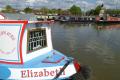 narrow boat stratford avon warwickshire midlands england english angleterre inghilterra inglaterra united kingdom british