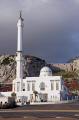 europa point gibraltar mosque holy custodians uk colonies spain spanish espagna andalusia costa del sol united kingdom britain british pillars hercules heracles rock mediterranean religious islamic muslim gibraltarian