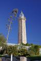 estepona costa del sol lighthouse near harbour puerto deportivo mediterranean andalucia spanish espana european spain espagna andalusia laga malaga spanien espa espagne la spagna