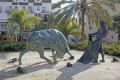 spain toreador sculpture plaza toros estepona costa del sol mediterranean andalucia spanish espana european espagna andalusia laga malaga bullfighting matador arena spanien espa espagne la spagna