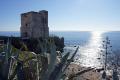 coast near estepona spain torre la sal costa del sol mediterranean andalucia spanish espana european espagna andalusia laga malaga moorish reconquista defensive fortified spanien espa espagne spagna