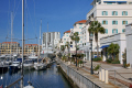 gibraltar queensway quay marina uk colonies spain spanish espagna andalusia costa del sol united kingdom britain british pillars hercules heracles rock mediterranean yachting gibraltarian