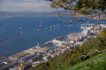 gibraltar algeciras harbour taken upper rock uk colonies spain spanish espagna andalusia costa del sol united kingdom britain british pillars hercules heracles mediterranean maritime gibraltarian