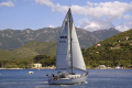yachting golfe saint florent corsica yachts sailing sailboats boats marine haute corse port marina haven quayside harbour boat bateaux mediterranean france la francia frankreich french