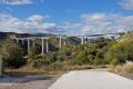 ap7 viaduct rio verde valley spanish espana european spain espagna andalusia andalucia estepona laga malaga costa del sol mediterranean pueblo blanca toll road motorway spanien espa espagne la spagna