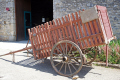 charente france old horse drawn cart gardens souffrignac farmyard animals animalia natural history nature french poitou charentes charras farming mus museum agriculture agricultural equipment jardins historic ancient antique vintage la francia frankreich
