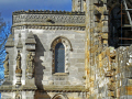entrance rosslyn chapel uk churches worship religion christian british architecture architectural buildings scotland scottish scots midlothian gothic roslin roslyn templars rosslin rose line perthshire scotch escocia schottland united kingdom