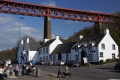 hawes inn shadow forth rail bridge south queensferry near edinburgh country pubs public houses countryside rural environmental scotland scottish scots midlothian engineering railway transport firth house perthshire scotch escocia schottland united kingdom british
