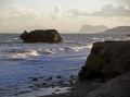 coast near estepona spain looking gibraltar pillars hercules costa del sol mediterranean andalucia spanish espana european espagna andalusia laga malaga morocco heracles jebel musa spanien espa espagne la spagna