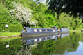 boat bridgewater canal near preston brook marina boats marine runcorn cheshire england english angleterre inghilterra inglaterra united kingdom british