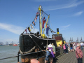 harwich maritime festival boats marine fireboat essex england english angleterre inghilterra inglaterra united kingdom british