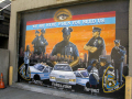 nypd mural harlem new york american yankee police big apple united states