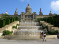 magic fountain montjuic barcelona catalunya catalonia spanish espana european spain spanien espa espagne la spagna