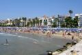 sea sitges catalunya catalonia spanish espana european costa mediteranian beach north coast spain spanien espa espagne la spagna