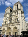 classic view notre dame french buildings european cathedral paris parisienne france la francia frankreich