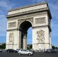 arc triomphe french buildings european paris parisienne france la francia frankreich