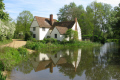 willy lott cottage flatford featured haywain uk cottages british housing houses homes dwellings abode architecture architectural buildings suffolk england english angleterre inghilterra inglaterra united kingdom
