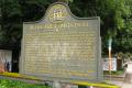 information board margaret mitchell atlanta wrote gone wind civil war history science georgia united states american