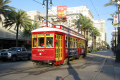 streetcar canal street new orleans american yankee tram french quarter louisiana southern state united states