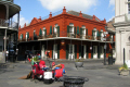 taking easy new orleans american yankee historic building french quarter louisiana southern state united states