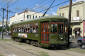 streetcar green line new orleans american yankee tram french quarter louisiana southern state united states