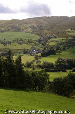 cambrian mountains countryside rural environmental uk hillsides denbighshire wales welsh país gales united kingdom british