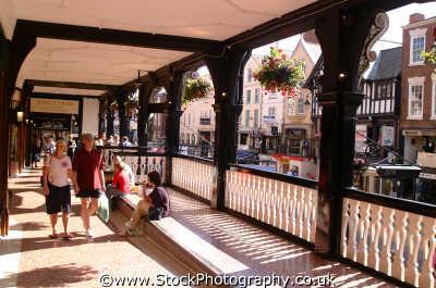 chester rows north west northwest england english uk shops retailers retailing shoppers cestrian cheshire angleterre inghilterra inglaterra united kingdom british