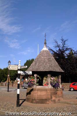 christleton village pump house north west northwest england english uk cheshire angleterre inghilterra inglaterra united kingdom british
