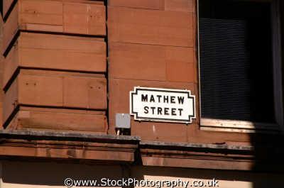 mathew st home cavern liverpool north west northwest england english uk scouse liverpudlian beatles merseyside angleterre inghilterra inglaterra united kingdom british