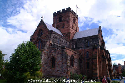 carlisle cathedral uk cathedrals worship religion christian british architecture architectural buildings cumbria cumbrian england english angleterre inghilterra inglaterra united kingdom