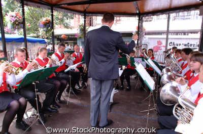 carlisle high school brass band lake district north west northwest england english uk musical conductor cumbria cumbrian angleterre inghilterra inglaterra united kingdom british