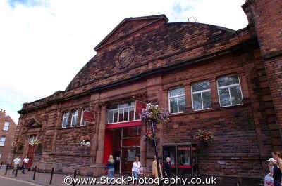 carlisle market hall lake district north west northwest england english uk cumbria cumbrian angleterre inghilterra inglaterra united kingdom british