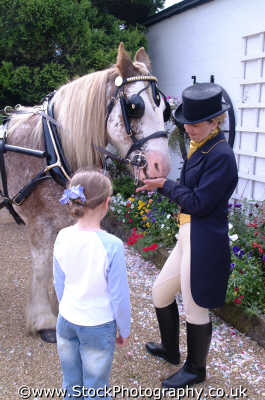 lady riding breeches horse talking child females feminine womanlike womanly womanish effeminate ladylike people persons equine gretna dumfries galloway dumfrieshire dumfriesshire scotland scottish scotch scots escocia schottland united kingdom british