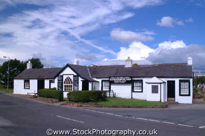 gretna green old blacksmith shop marriage room unusual british buildings strange wierd uk weddings matrimony dumfries galloway dumfrieshire dumfriesshire scotland scottish scotch scots escocia schottland united kingdom