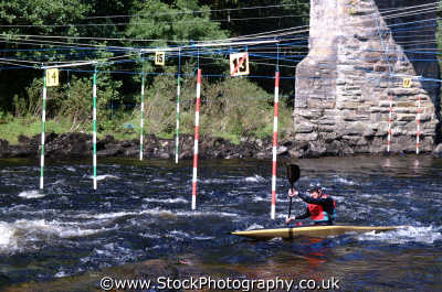 canoe slalom sports sporting uk canoeists canoeing perth kinross perthshire scotland scottish scotch scots escocia schottland united kingdom british