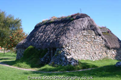 culloden stone cottage used field hospital uk country houses homes british housing dwellings abode architecture architectural buildings battles redcoats jacobites moray morayshire scotland scottish scotch scots escocia schottland united kingdom