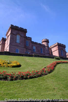 inverness castle scottish castles british architecture architectural buildings uk highlands islands scotland scotch scots escocia schottland united kingdom