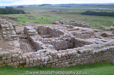 roman fort hadrians wall housesteads historical britain history science misc. romans fortifications northumberland northumbrian england english angleterre inghilterra inglaterra united kingdom british
