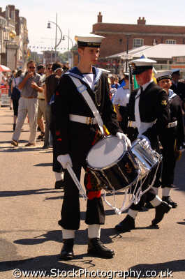 naval drummer boy royal navy navies uk military militaries portsmouth pompey hampshire hamps england english angleterre inghilterra inglaterra united kingdom british