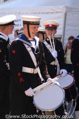 naval drummers royal navy navies uk military militaries portsmouth pompey hampshire hamps england english angleterre inghilterra inglaterra united kingdom british