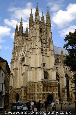 canterbury cathedral uk cathedrals worship religion christian british architecture architectural buildings kent england english angleterre inghilterra inglaterra united kingdom